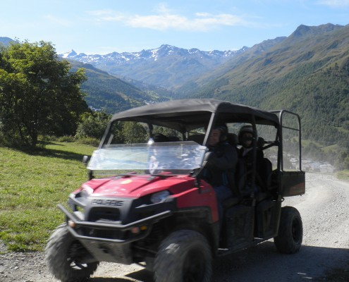 Randonnées en buggy aux Menuires avec Altana Bike