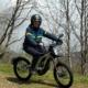 Balade en moto électrique aux Menuires