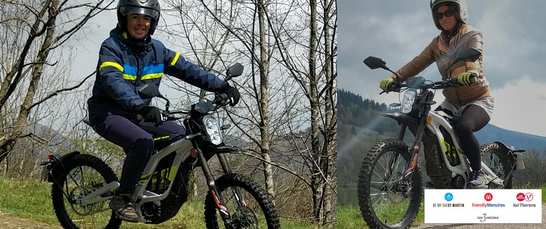 Randonnées en moto 100% électrique aux Menuires avec Altana Bike